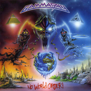 "Gamma Ray - No World Order 4x4"" Color Patch"