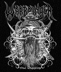 "Warbringer - Thai Warrior 5x6"" Printed Patch"