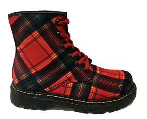 UPIABG Boots - Dr Escoces Red Unisex Boots