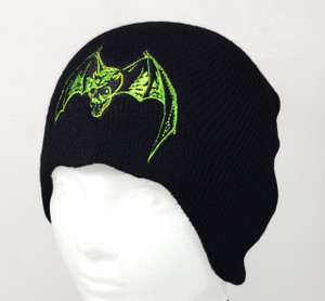 Overkill Embroidered Knit Beanie