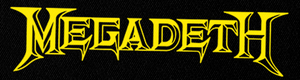 "Megadeth Logo 6x2"" Printed Patch"