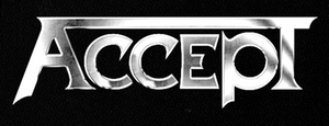 "Accept Logo 7x3"" Printed Patch"
