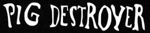 "Pig Destroyer Logo 7x2"" Printed Patch"