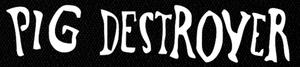 "Pig Destroyer - Logo 7x2"" Printed Patch"