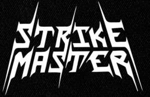 "Strike Master Logo 6x4"" Printed Patch"