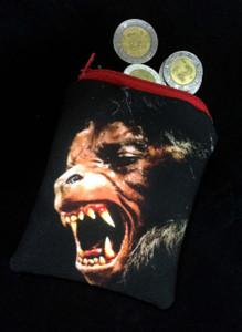 American Warewolf in London Coin Purse