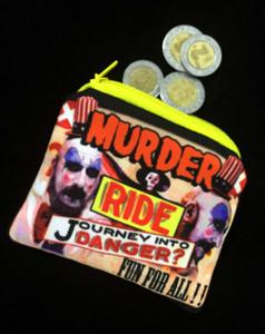 Captain Spaulding Murder! Coin Purse
