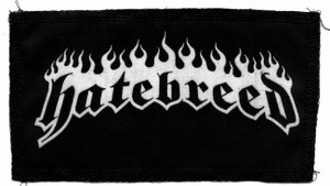 "Hatebreed Logo 6x3"" Printed Patch"