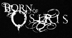 "Born of Osiris Logo 6x3"" Printed Patch"