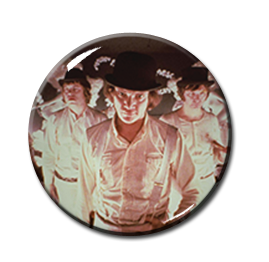 "Clockwork Orange - Droogies 2.25"" Pin"