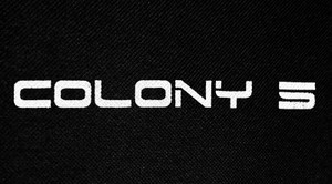 "Colony 5 Logo 6x3"" Printed Patch"