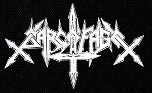 "Sarcofago Logo 8x5"" Printed Patch"