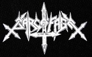 "Sarcofago - Logo 8x5"" Printed Patch"