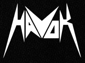 "Havok Logo 4X5"" Printed Patch"