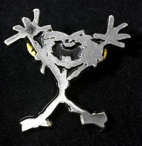 """Pearl Jam - Alive Logo 2"""" Metal Badge Pin"""