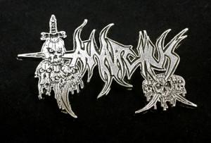 "Anarchus - Logo 2"" Metal Badge Pin"