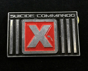 """Suicide Commando - Logo 2"""" Metal Badge Pin"""