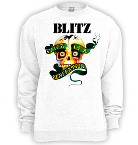 Blitz Voice of a Generation Crewneck Sweatshirt