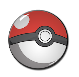 "Pokeball 1.5"" Pin"
