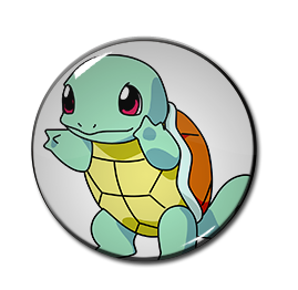 "Pokemon - Squirtle 1.5"" Pin"