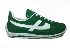 Panam - Green & White Unisex Sneaker