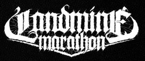 "Landmine Marathon Logo 7x5"" Printed Patch"