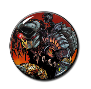 "Comic Predator 2.25"" Pin"