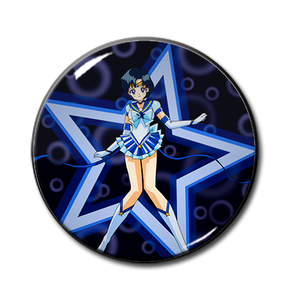 "Sailor Mercury 2.25"" Pin"