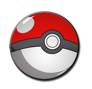 "Pokeball 2.25"" Pin"