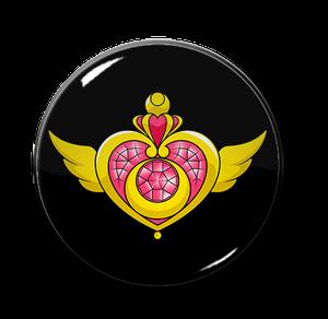 "Sailor Moon Locket 2.25"" Pin"