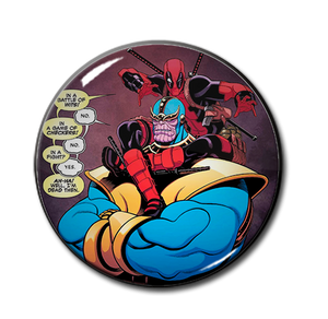 "Deadpool & Thanos 2.25"" Pin"