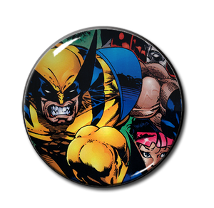 "X-Men's Wolverine & Jubilee 2.25"" Pin"