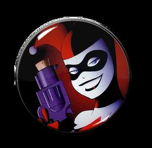 """Harley's Gun 2.25"""" Pin"""