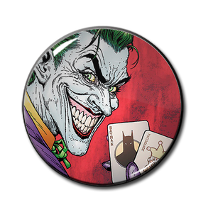"The Joker Batcards 2.25"" Pin"