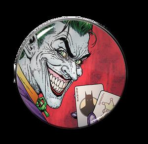 "Batman -  The Joker Batcards 2.25"" Pin"
