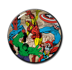 "The Avengers Comic 2.25"" Pin"