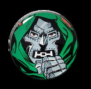 "Dr. Doom 2.25"" Pin"