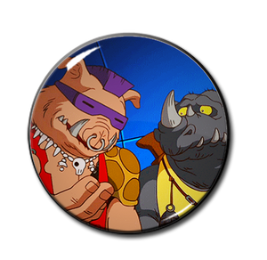 "Bebop & Rocksteady 2.25"" Pin"