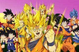 """Goku 12x18"""" Poster"""