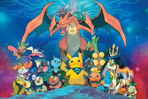 """Pokemon Super Mistery Dungeon 12x18"""" Poster"""