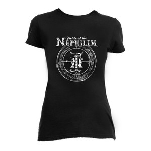 Fields of Nephilim Goth Logo Blouse T-Shirt