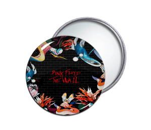 Pink Floyd's The Wall Round Pocket Mirror