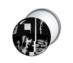 Bauhaus Face Pocket Mirror