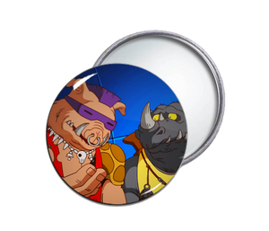 TMNT's Bebop & Rocksteady Pocket Mirror