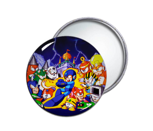 Megaman 4 Pocket Mirror
