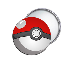 Pokeball Pocket Mirror