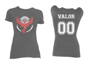 Pokemon's Team Valor Grey Blouse T-Shirt