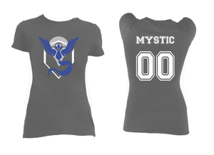 Pokemon's Team Mystic Grey Blouse T-Shirt