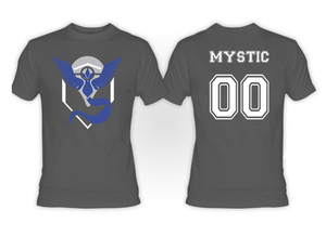 Pokemon's Team Mystic Grey T-Shirt