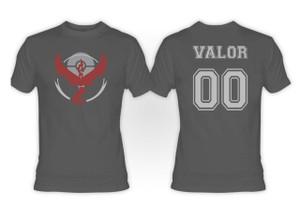 Pokemon's Team Valor Grey T-Shirt